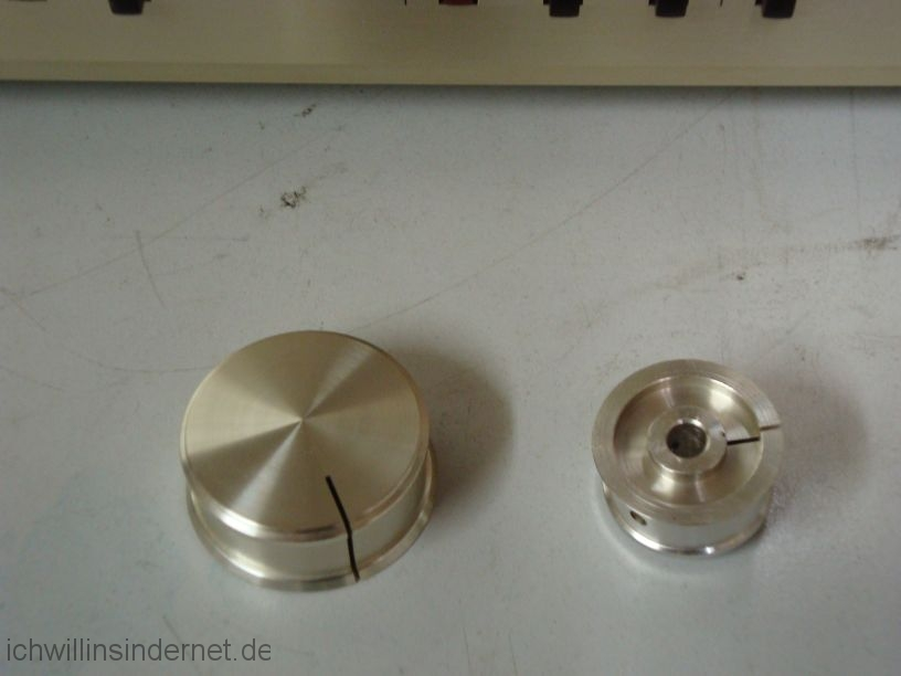 Accuphase E303: Knöpfe