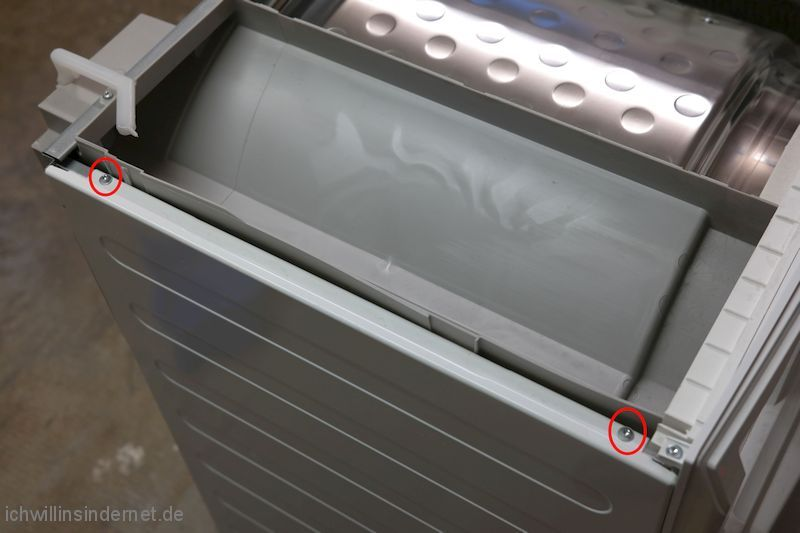 AEG T65280AC Schrauben Seitenteile
