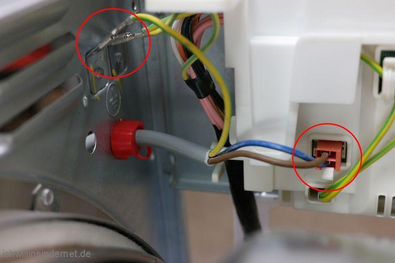 Kabel abstecken