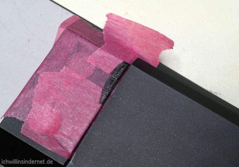 Braun A2: lackierte Frontplatte