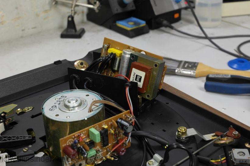 Dual 621: Entstörkondensator im Netzteil