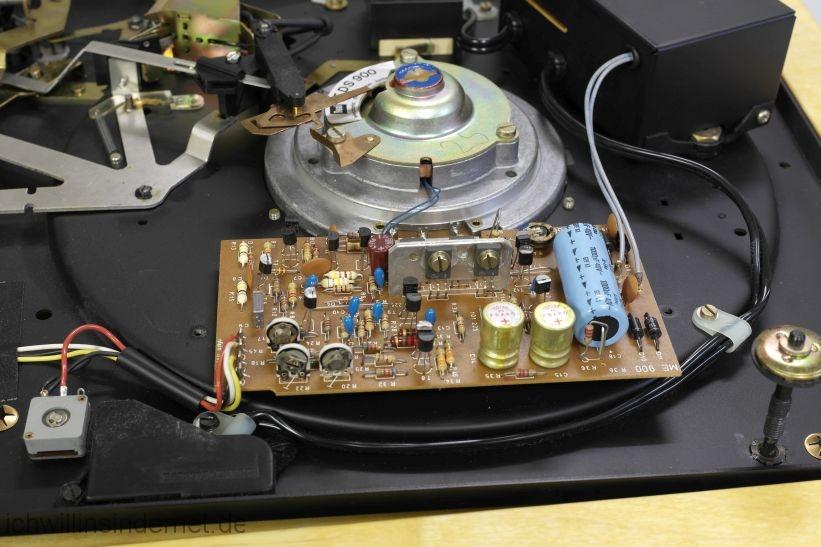 Motorsteuerung mit alten Kondensatoren
