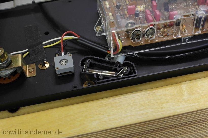 LED Stroboskop: Glimmlampe