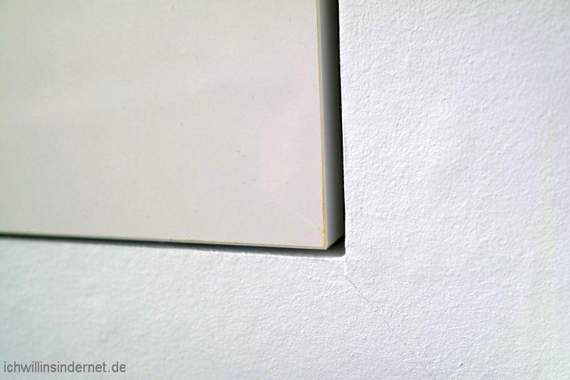 Spaltmaß Schranktür Wand
