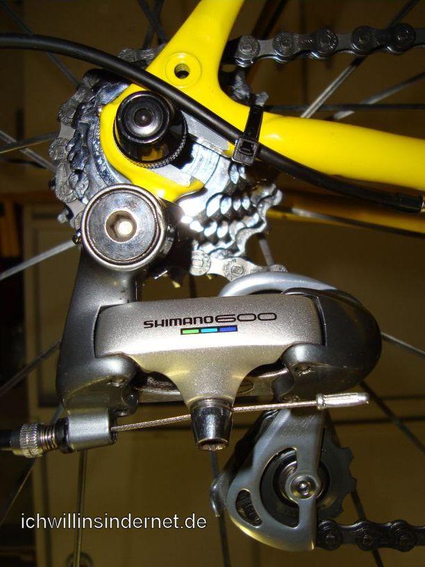 Altes Rennrad: Schaltwerk RD-6401
