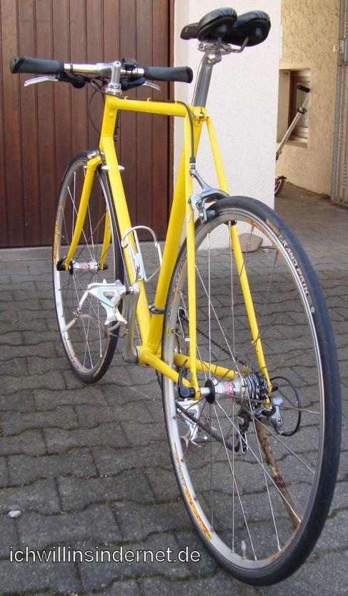 Altes Rennrad: fertig