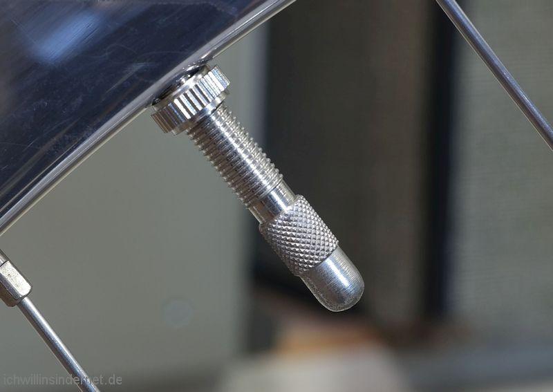 Metall-Ventilkappen verbaut