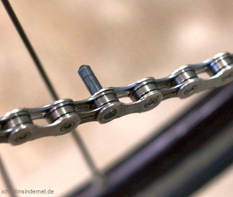 vernietete Fahrradkette