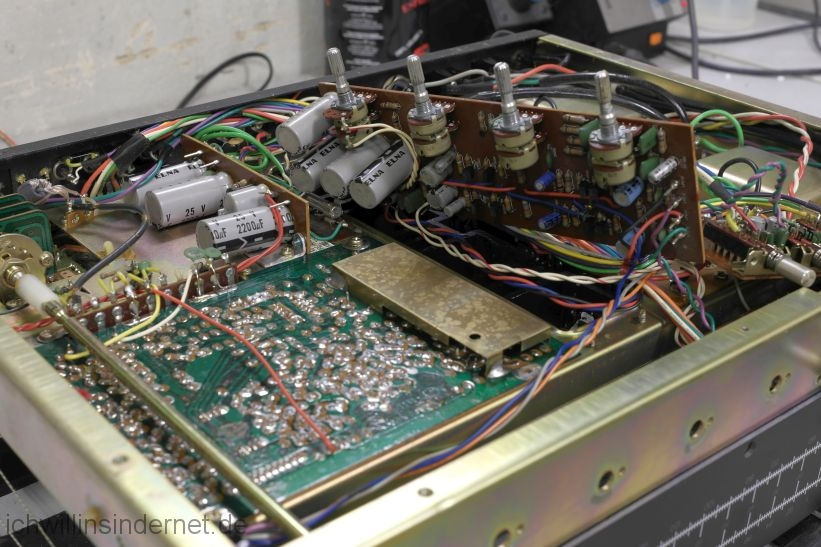 Harman Kardon HK 730: Tone Preamp Sub Rectifier alt