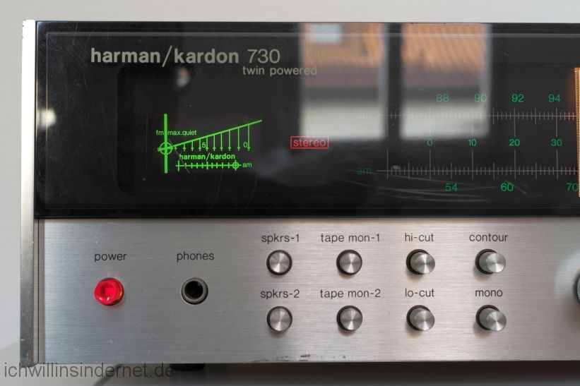 Harman Kardon HK 730: fertig Abstimminstrument