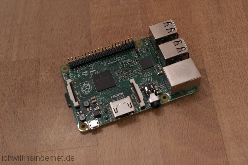 Musikplayer mit Raspberry Pi: Raspberry Pi