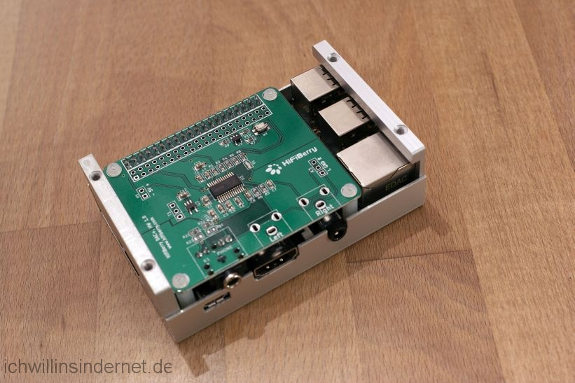 Musikplayer mit Raspberry Pi: HiFiBerry