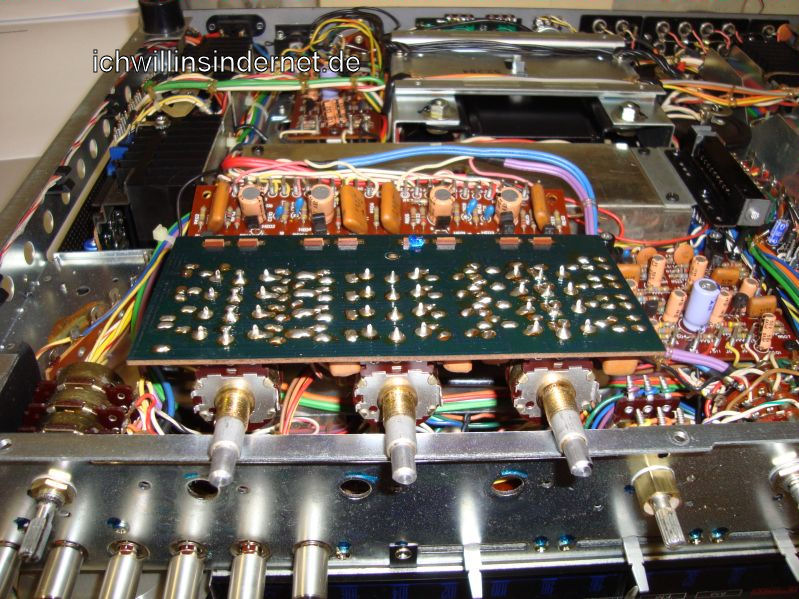 Marantz 4300 Quadro Receiver: Klangregler