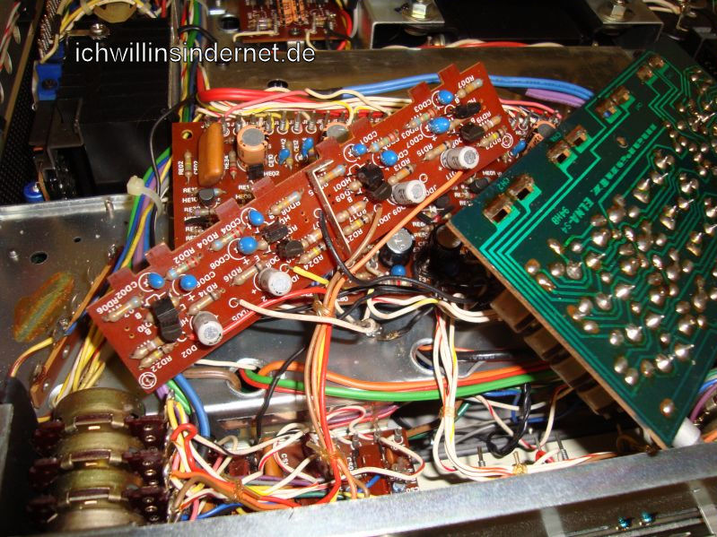 Marantz 4300 Quadro Receiver: PD01 alte Elkos