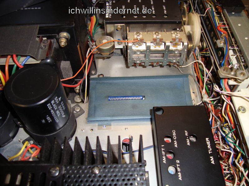 Marantz 4300 Quadro Receiver: Steckplatz P600