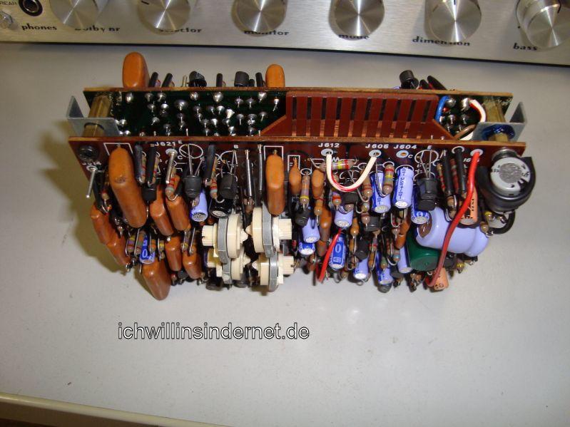 Marantz 4300 Quadro Receiver: P600 alte Elkos
