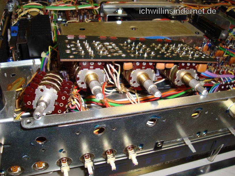 Marantz 4300 Quadro Receiver: PF01 und Lautstärkepoti