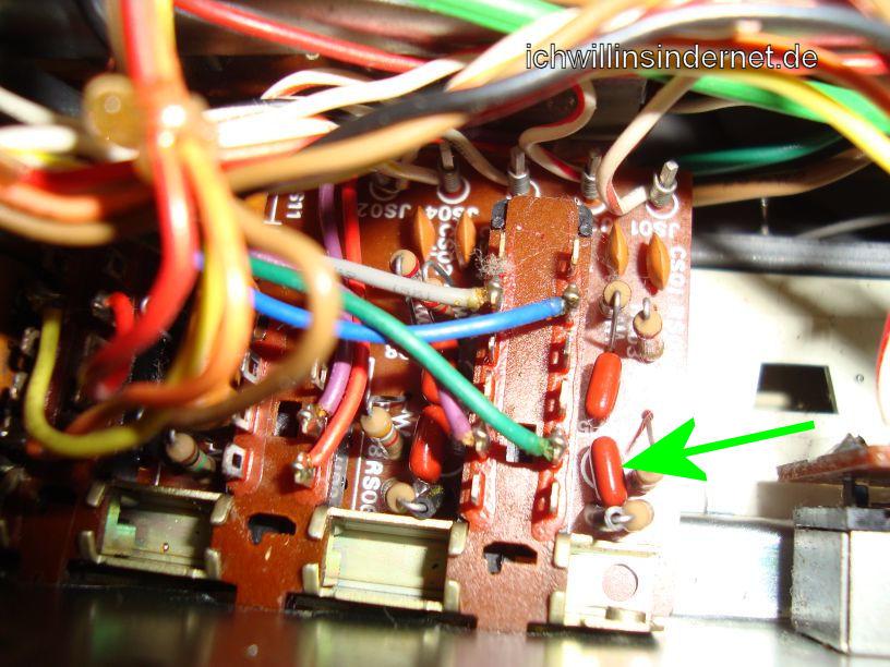 Marantz 4300 Quadro Receiver: PS01 neue Folienkondensatoren