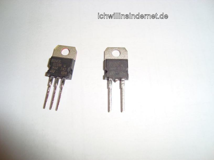 Neue Transistoren BD243C