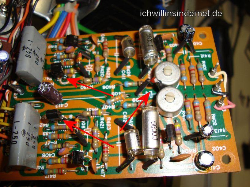 Marantz 4300: Alte Teile des Phono-Boards