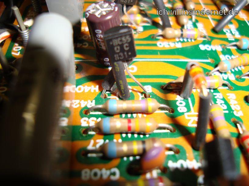 Marantz 4300: Neue Teile des Phono-Boards
