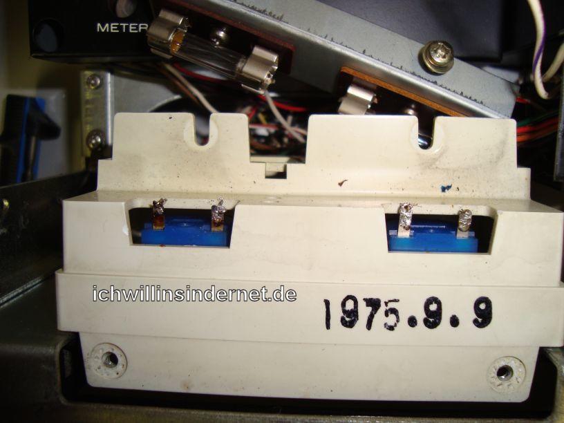 Marantz Vellum ersetzen: Lampenkasten Anzeigeinstrumente