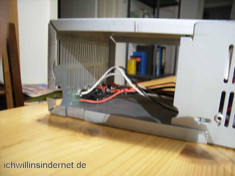 ATX-Netzteil - Festspannungsnetzteil: Leitungen sind verlötet