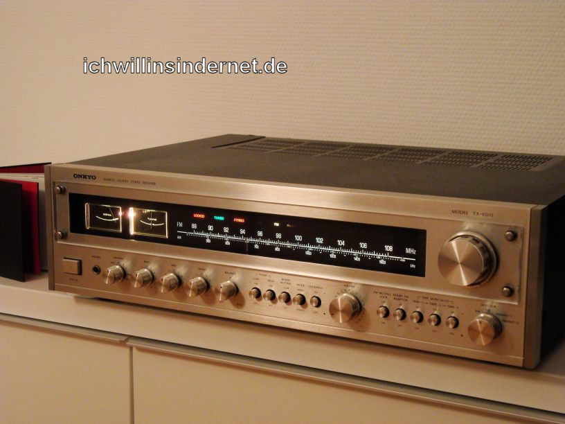 Onkyo TX 8500: fertig