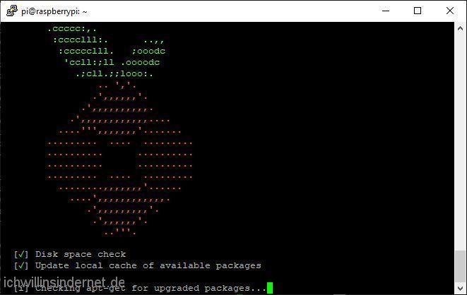 Pi-hole wird installiert