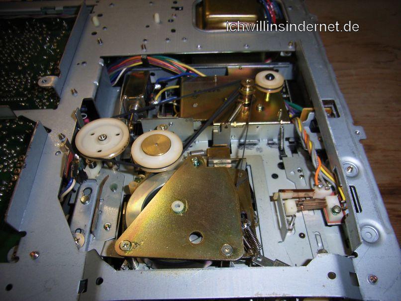 Pioneer CT 3000: Riemen