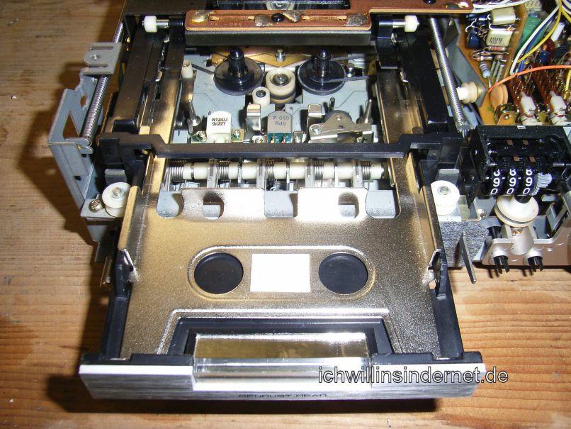 Pioneer CT 3000: Riemen und Idler