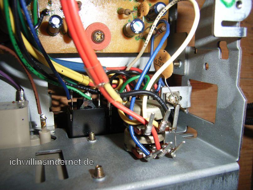 Pioneer CT-3000: Poti