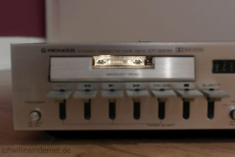 Pioneer CT 3000: Bandkontrolle