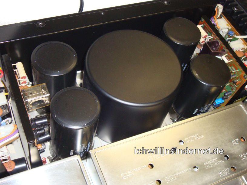 Pioneer SX-5590: Innenansicht