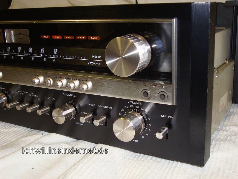 Pioneer SX-5590: Frontansicht