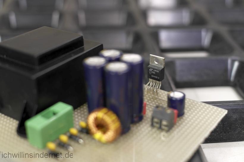Rauscharmes Netzteil für den Raspberry PI mit Hifiberry: Spannungsregler LT3081