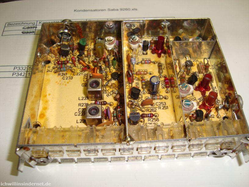 Saba 9260: FM-Tuner-Modul