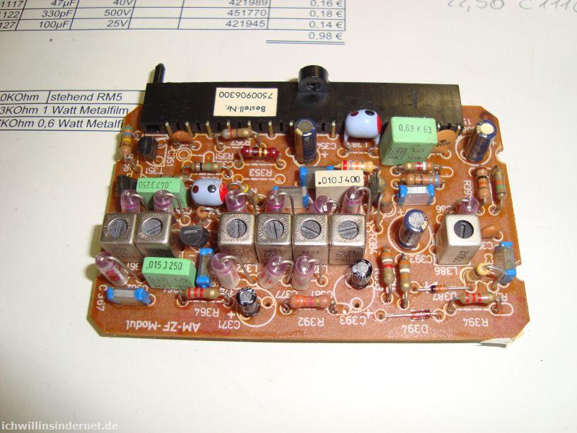 Saba 9260: AM-ZF-Modul