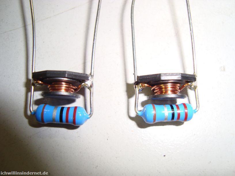 Saba 9260: LR-Glied für Relais-Modul