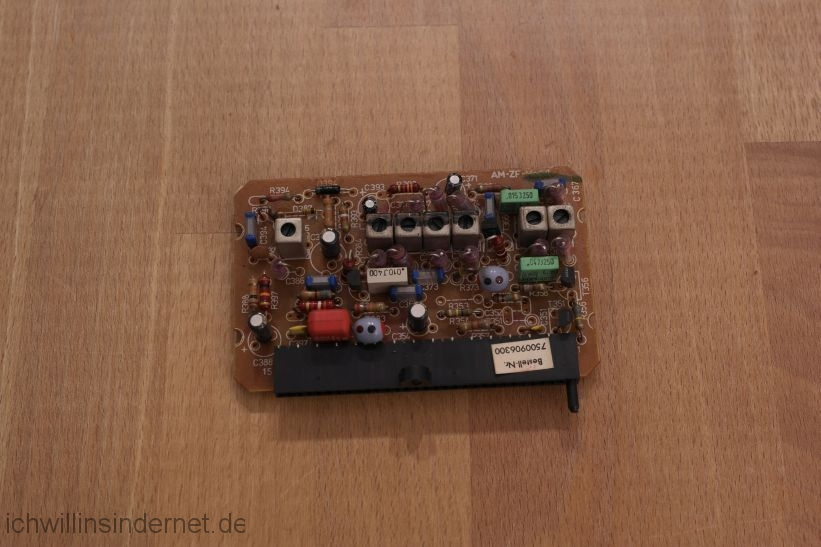 schwarzer Saba 9260: AM ZF Modul
