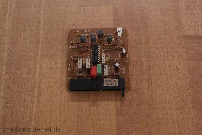 schwarzer Saba 9260: NF Filter Modul