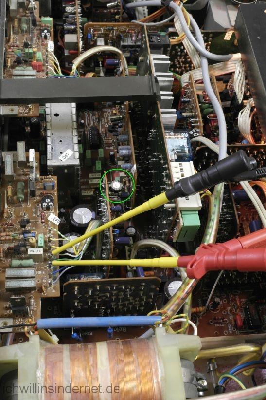 schwarzer Saba 9260: DC Offset einstellen
