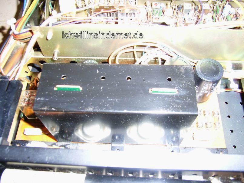 Sansui 661: Abdeckung Driver Circuit