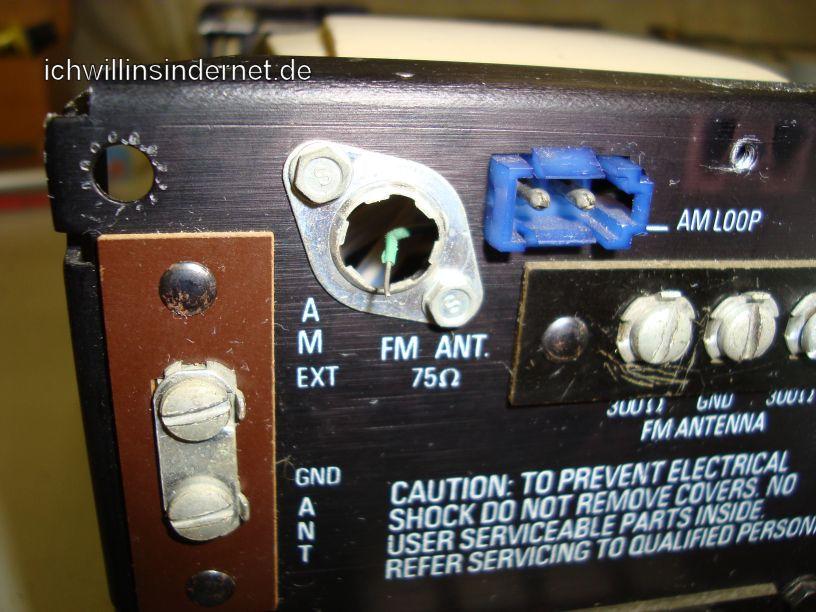 HH Scott R75S: Antennenbuchse fehlt