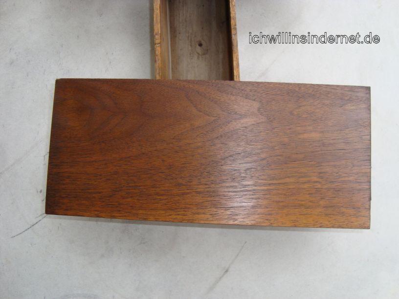 HH Scott R75S: geölte Holzseite