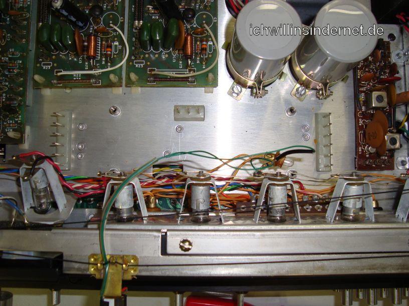 HH Scott R75S: FM IF Verstärker wurde entfernt