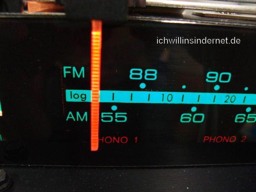 HH Scott R75S: Frequenzanzeige