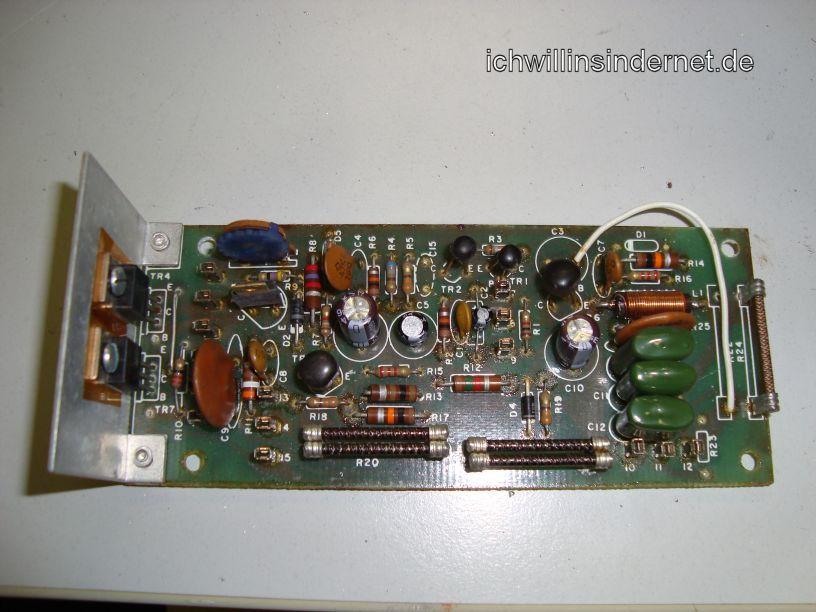 HH Scott R75S: Driver Assembly neue Kondensatoren