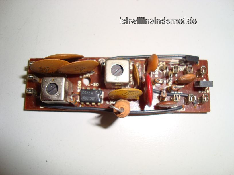 HH Scott R75S: AM IF Amplifier Assembly alte Kondensatoren