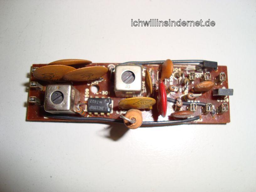 AM IF Amplifier Assembly alte Kondensatoren